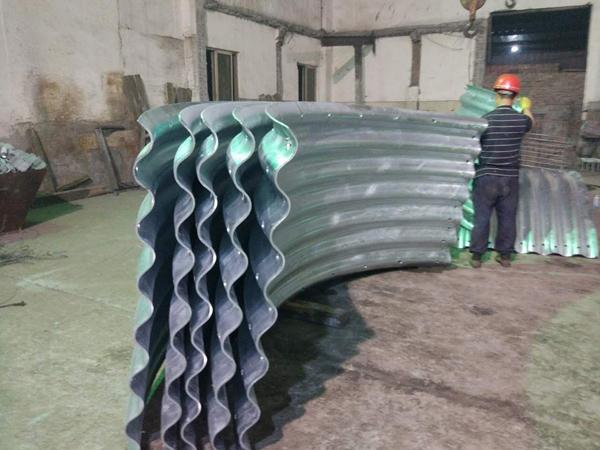 金属波纹管热镀锌处理
