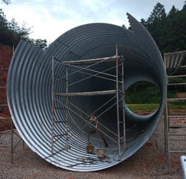 拼装金属波纹管相关案例